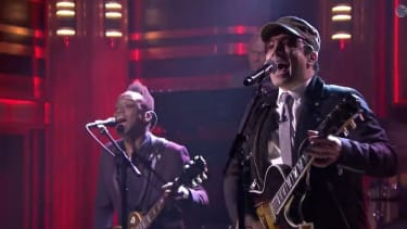 With U2 sidelined by Bono's arm, Jimmy Fallon and The Roots cover 'Desire'