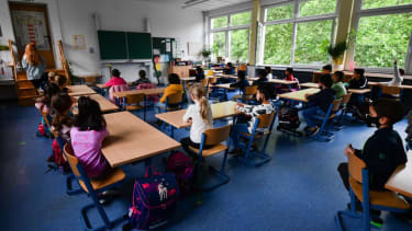 Classroom in Germany.