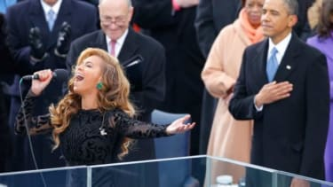 If Beyonce did indeed lip-sync her presidential inauguration performance, she won't be the first to have done so.