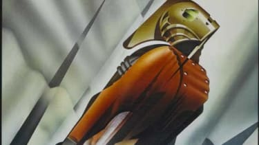 """The original poster for """"The Rocketeer"""""""
