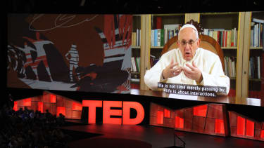 Pope Francis gave TED talk. You read that right.