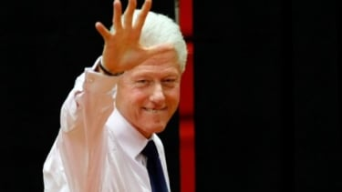 Bill Clinton: Rhodes Scholar, former president, humanitarian... actor?