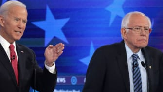 Joe Biden and Bernie Sanders.