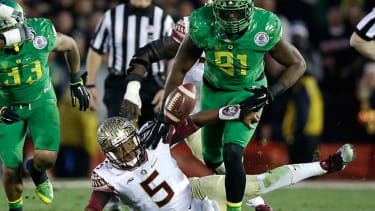 Watch the embarrassing fumble that clinched Florida State's crushing Rose Bowl loss