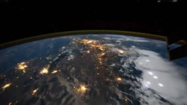 A unique view of Earth from the International Space Station
