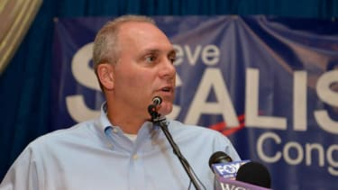 Steve Scalise, House majority whip, admits he spoke at a white nationalist summit in 2002