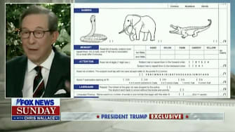 Chris Wallace on Trump's cognitive test