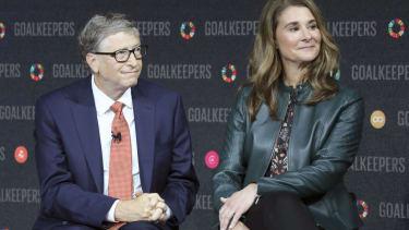 Bill and Melina Gates