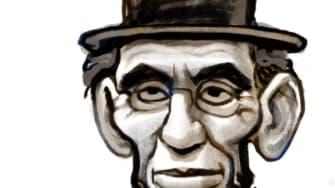 Political Cartoon U.S. Trump Abraham Lincoln Franklin Roosevelt The Bachelor wartime coronavirus