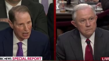 Ron Wyden and Jeff Sessions.