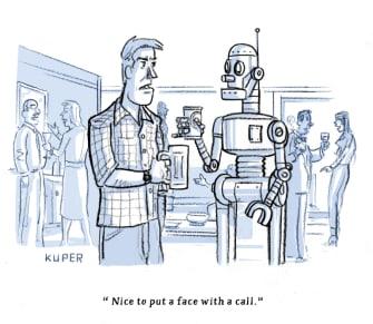 Editorial Cartoon U.S. robocalls