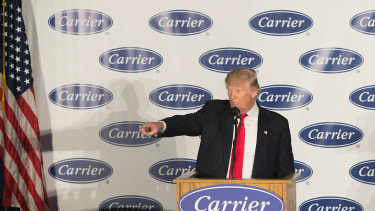 Donald Trump harasses Carrier union official on Twitter