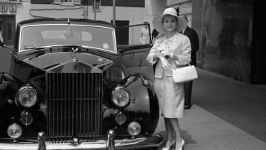 Zsa Zsa Gabor in 1964 outside the Hilton Hotel in London