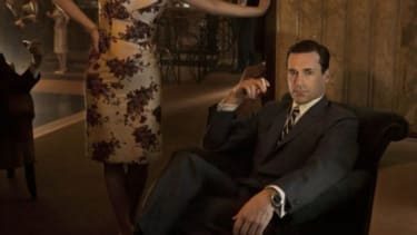 """Jon Hamm makes $250,000 per episode playing Don Draper on AMC's """"Mad Men"""" -- the exact amount that the per-episode budget of """"The Walking Dead"""" was just cut."""