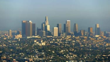 The notoriously traffic-heavy, air-polluted Los Angeles