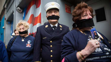 Unidentified 9/11 remains returned to site in somber ceremony