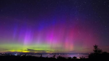 Check out these incredible images from Friday night's northern lights show