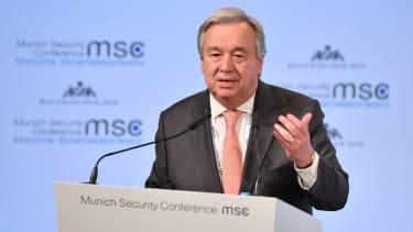 UN Secretary General António Guterres.