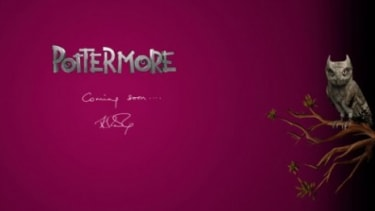 """A teaser for a mysterious new """"Pottermore"""" website is revving up Harry Potter fans."""