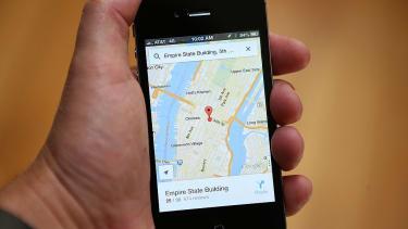 Google maps pacman surprise.