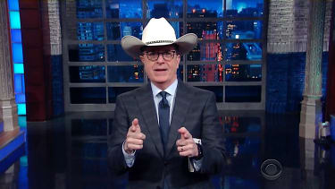 Stephen Colbert explains Breitbart's feud with Paul Ryan