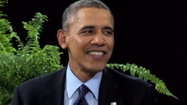 Watch Zach Galifianakis get annoyed at President Obama on Between Two Ferns