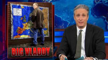 Watch The Daily Show mock Fox News' confused man-crush on Vladimir Putin