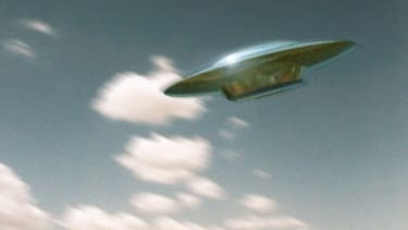 Britain's UFO desk was fielding children's questions and dubious sitings.