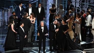 Oscars mistake.