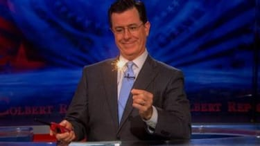 Stephen Colbert is 'top choice' to replace David Letterman
