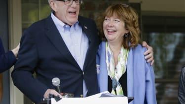 Brad Ashford and Ann Ferlic Ashford.