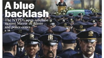 The NYPD covers this week's issue of The Week magazine