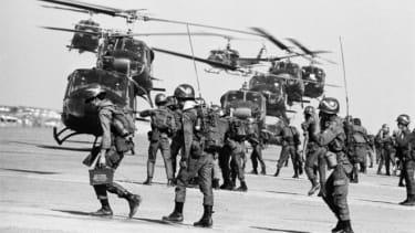 Vietnam War Troops