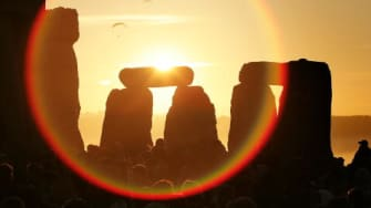 The summer solstice will align with the rise of a strawberry moon –– named for the height of the strawberry harvest season during which it falls ––for the first time since 1967