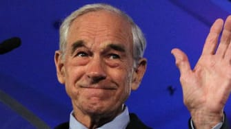 Republican presidential candidate U.S. Rep. Ron Paul (R-TX) speaks during the 2011 Republican Leadership Conference on June 17, 2011 in New Orleans, Louisiana.
