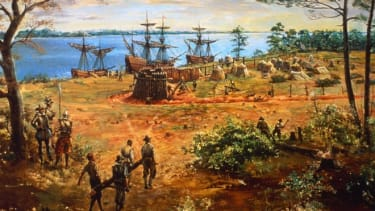 Jamestown Fort, mid-18th century