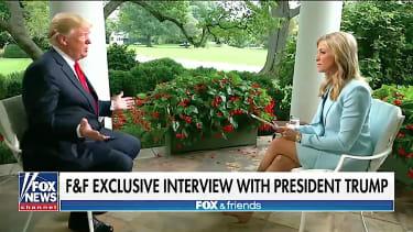 Trump talks to Fox News