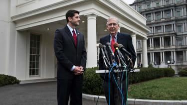 The House vs. the Senate.