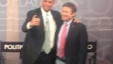 Meanwhile, on Capitol Hill, Cory Booker is trolling for selfies with senators