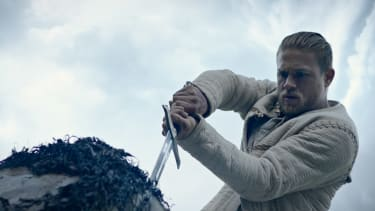 Charlie Hunnam is King Arthur.