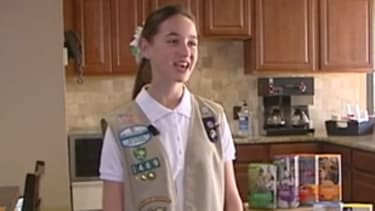 Oklahoma Girl Scout crumbles cookie sales record by selling 18,107 boxes