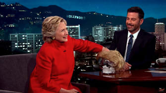 Hillary Clinton reads mean quotes by Donald Trump