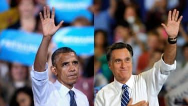President Obama, Mitt Romney