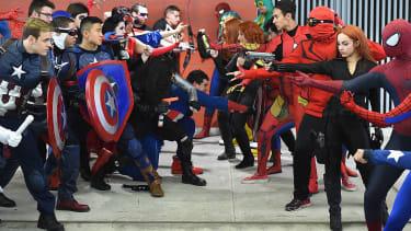 Comic Con New York, 2016.