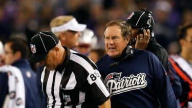 Head coach of the New England Patriots, Bill Belichick