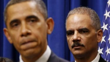 Attorney General Eric Holder and Obama