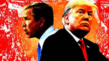 George W. Bush and President Trump.