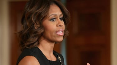 Michelle Obama delivers moving speech at Maya Angelou's memorial service