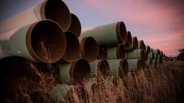 Unused pipes.