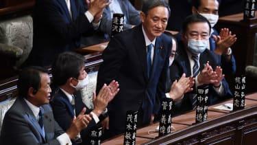 Yoshihide Suga elected Japan's prime minister
